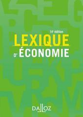 Lexique d'économie