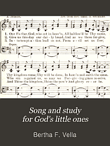 Song and Study for God s Little Ones PDF