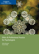 Ethics Professional Practice For Psychologists Book PDF