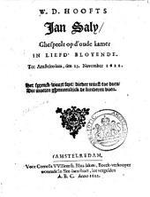 Willem Dirksz Hooft's Jan Saly: Volume 1