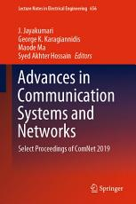 Advances in Communication Systems and Networks PDF