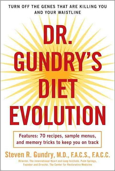 Download Dr  Gundry s Diet Evolution Book
