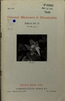 Bulletins of Oriental Miniatures   Illuminations PDF
