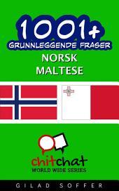 1001+ grunnleggende fraser norsk - maltese