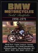 BMW Motorcycles 1950-71 Gold Portfolio