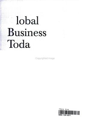 Global Business Today Postscript 2003  Map and Powerweb PDF