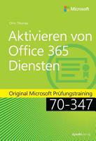 Aktivieren von Office 365 Diensten PDF