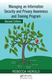 Managing an Information Security and Privacy Awareness and Training Program, Second Edition: Edition 2