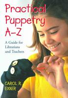 Practical Puppetry A Z PDF
