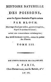 Histoire naturelle des poissons: avec les figures dessinées d'après nature, Volume10