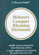 Webster s Compact Rhyming Dictionary PDF