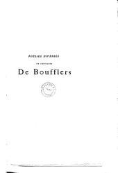 Poésies diverses du chevalier de Boufflers: Volume5