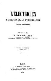 L'Electricien: Volume12