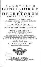 Sanctorum conciliorum et decretorum collectio nova: 1415-1437