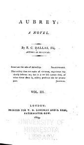 Aubrey: A Novel, Volume 3
