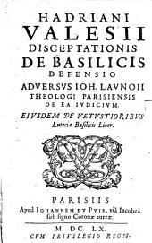 Disceptationis de Basilicis defensio