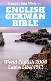 English German Bible No2: World English 2000 - Lutherbibel 1912