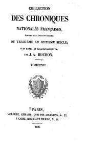 Chroniques de Froissart: Volume12