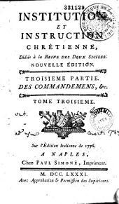 Institution et instruction chrétienne dédiée à la reine des Deux-Siciles, [par l'abbé Pierre-Sébastien Gourlin]