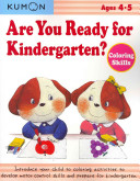 Are You Ready for Kindergarten  Coloring Skills