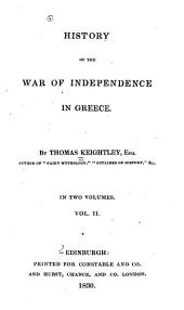 History of the War of Independence in Greece: Volume 2