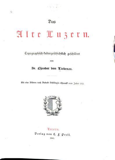Das alte Luzern PDF