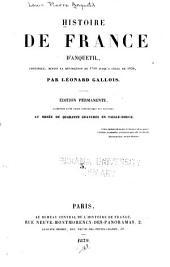 Histoire de France d'Anquetil: continuée, depuis la révolution de 1789 jusqu'a celle de 1850, Volume3