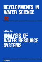 Analysis of Water Resource Systems PDF