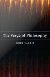The Verge of Philosophy