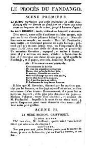 Le procès du Fandango, ou La Fandangomanie: comédie-vaudeville, en un acte