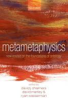 Metametaphysics PDF