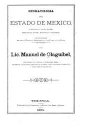 Onomatología del estado de México, comprendiendo cuatro idiomas: mexicano, otomí, mazahua y tarasco