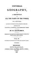 Universal Geography  Or  a Description of All the Parts of the World  on a New Plan  Africa and adjacent islands PDF