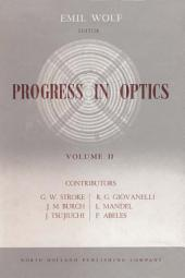 Progress in Optics: Volume 2