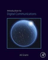 Introduction to Digital Communications PDF