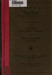 Proceedings of the Convention: Volume 12