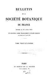 Bulletin de la Société botanique de France: Volume24