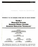 ESDA 1996  Nonlinear systems  Advanced energy systems  Advanced simulation technology PDF