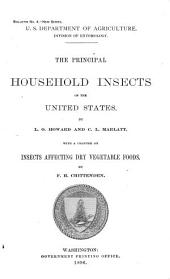 The Principal Household Insects of the United States: Volumes 1-6; Volume 33