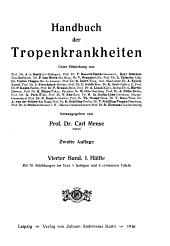 Handbuch der Tropenkrankheiten: pt.1. Protozoenkrankheiten. Ruge, R. Amöbenerkrankkungen