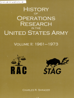 History of Operations Research in the United States Army  Volume 2  1961 1973  2008 PDF