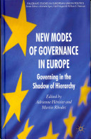 New Modes of Governance in Europe PDF