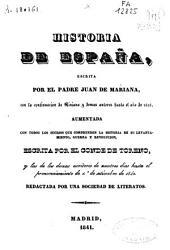 Historia general de España: Volúmenes 3-4