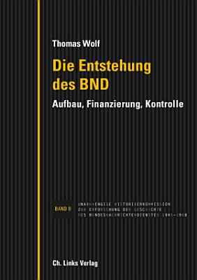 Die Entstehung des BND PDF