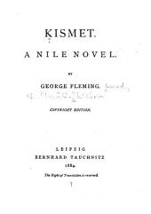 Kismet: A Nile Novel
