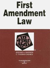 First Amendment Law in a Nutshell, 4th: Edition 4
