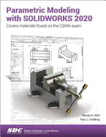 Parametric Modeling with SOLIDWORKS 2020 PDF