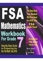 FSA Mathematics Workbook For Grade 7 PDF
