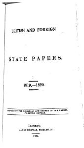 British and Foreign State Papers: Volumes 6-7