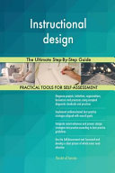 Instructional Design the Ultimate Step-By-Step Guide
